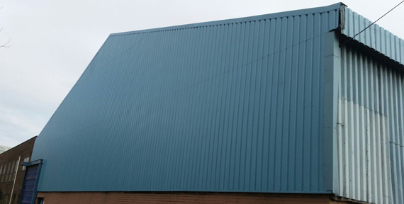 Industrial over Cladding in Sheffield, UK | AB Roofing Solutions