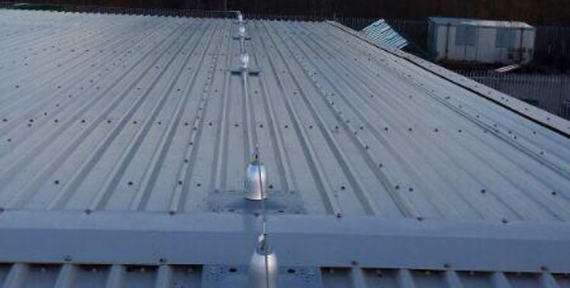 Industrial Roof Safety Line Systems In Sheffield Uk Ab